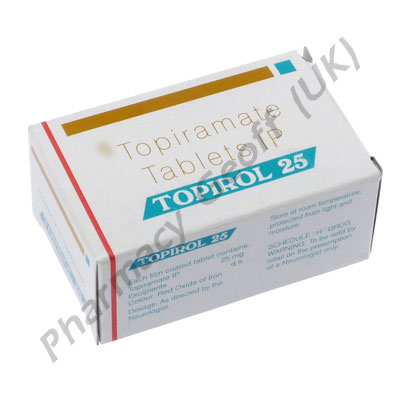 Topirol Topiramate 25mg