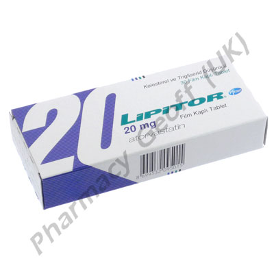 Lipitor Atorvastatin Calcium 20mg 30 Tablets
