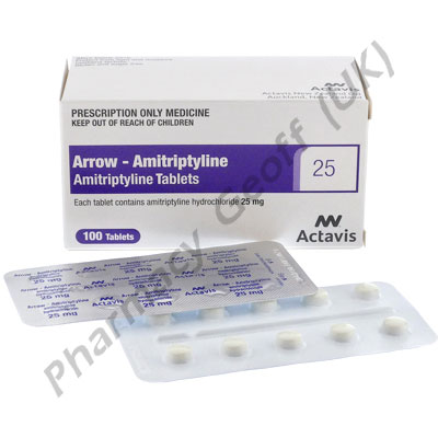 Amitriptyline 25mg