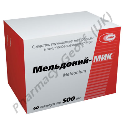 Meldonium Mildronate 500mg