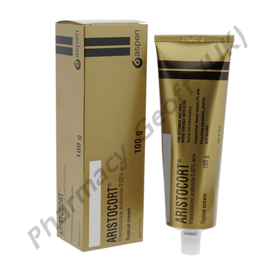 Aristocort Cream (Triamcinolone Acetonide) - 0.02% (100g Tube)