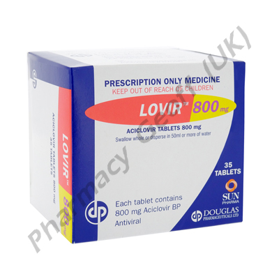 Lovir (Aciclovir) - 800mg (35 Tablets)