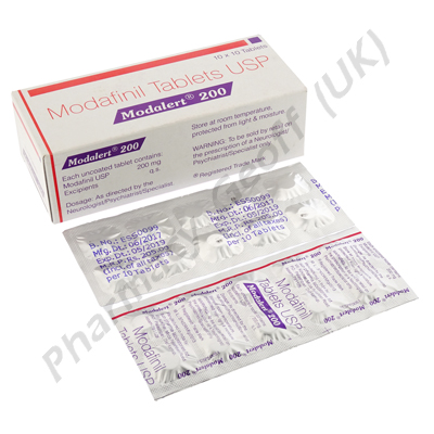 Modafinil (Modalert) - 200mg (10 Tablets)