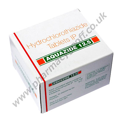 Hydrochlorothiazide (Aquazide) - 12.5mg (10 Tablets)