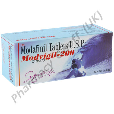 Modvigil-200 (Modafinil) - 200mg (10 Tablets)