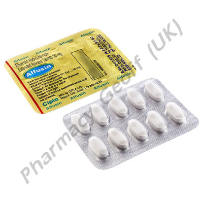 Alfuzosin (Alfusin) - 10mg (10 Tablets)