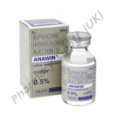 Bupivacaine Injection (Anawin 0.5%) - 5mg (20ml)
