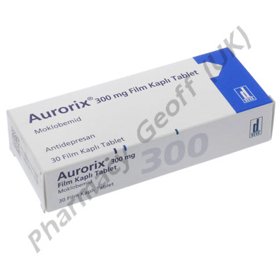 Aurorix (Moclobemide) - 300mg (30 Tablets) (Turkish)