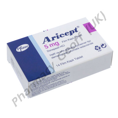 Aricept (Donepezil Hydrochloride) - 5mg (14 Tablets) (Turkish Packaging)