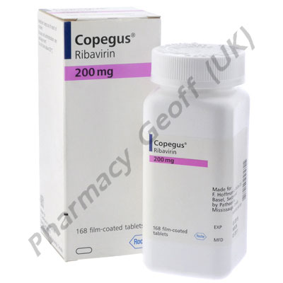 Copegus (Ribavirine) - 200mg (168 Tablets)