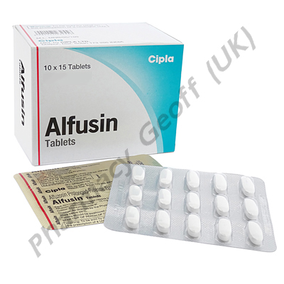 Alfusin (Alfuzosin HCL) - 10mg (15 Tablets)