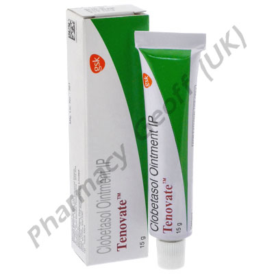 Tenovate Ointment (Clobetasol Propionate IP) - 0.05% (15g)