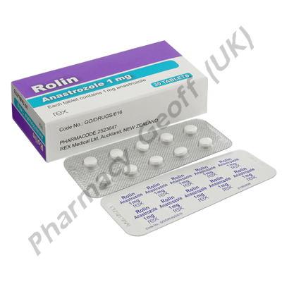 Rolin (Anastrozole) - 1mg (30 Tablets)