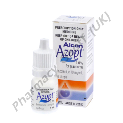 Azopt Eye Drops (Brinzolamide) - 1% (5mL Bottle)