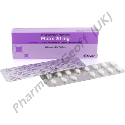 Fluox (Fluoxetine Hydrochloride) - 20mg (30 Tablets)