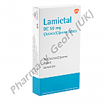 Lamictal DC (Lamotrigine) - 50mg (30 Tablets)