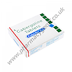 Cabergoline (Caberlin) 0.5mg (4 Tablets)
