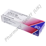 Lipex (Simvastatin) - 80mg (30 Tablets)