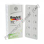 Baytril (Enrofloxacin) - 15mg (10 Tablets)