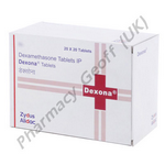 Dexamethasone (Dexona) - 0.5mg (20 Tablets)