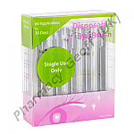 Eye Brush Applicators for Bimatoprost Eye Drops (30 Pairs)