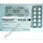 Plaquenil (Hydroxychloroquine Sulfate) - 200mg (60 Tablets)