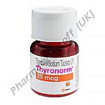 Thyronorm (Thyroxine Sodium) - 25mcg (120 Tablets)