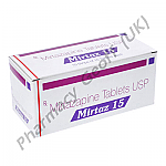 Mirtazapine (Mirtaz) - 15mg (10 Tablets)