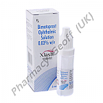 X-Lash (Bimatoprost Ophthalmic Solution) - 0.03% (3mL) + 1 Applicator Brush