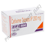 Cefixime (Zifi) - 200mg (10 Tablets)