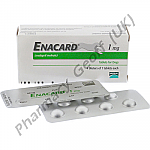 Enacard (Enalapril Maleate) - 1mg (28 Tablets)