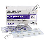 Arrow-Amitriptyline (Amitriptyline Hydrochloride) - 25mg (100 Tablets)