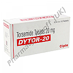 Torsemide (Dytor) - 20mg (10 Tablets)