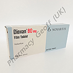 Diovan (Valsartan) - 80mg (28 Tablets)