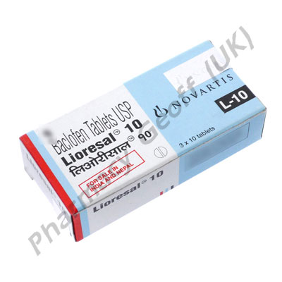 lioresal 10mg tablets