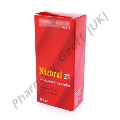 Nizoral Shampoo Ketoconazole 2 100ml Bottle Hair