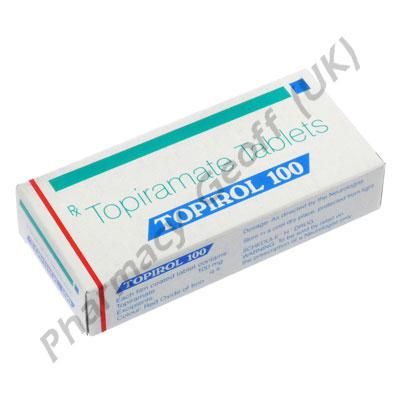 Topiramate Topirol 100mg 10 Tablets Neurological