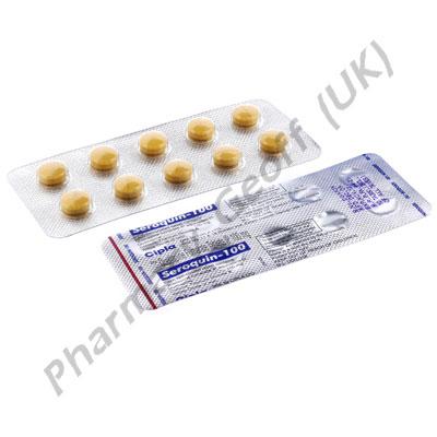 Quetiapine Seroquin 100mg 10 Tablets