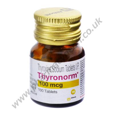 Thyronorm (Levothyroxine) 100mcg