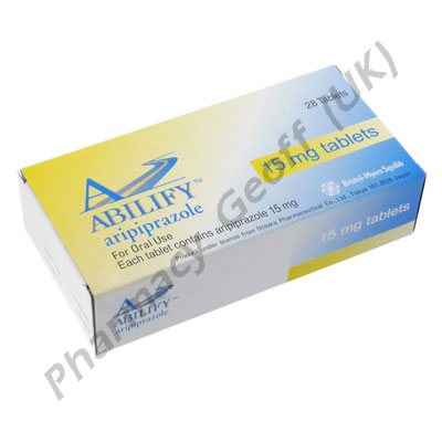 Abilify Aripiprazole 15mg 28 Tablets