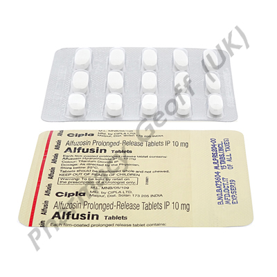 Alfusin (Alfuzosin HCL) - 10mg (15 Tablets)2