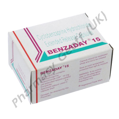 Benzaday 15mg Cyclobenzaprine