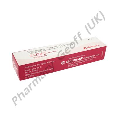 Tazret Forte Cream (Tazarotene) - 0.1% - (20g)