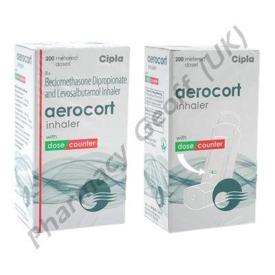 Aerocort Inhaler (Beclomethasone / Levosalbutamol)