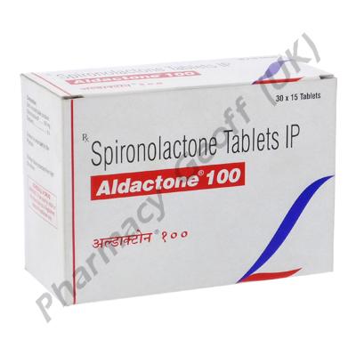 Aldactone (Spironolactone) - 100mg (15 Tablets)