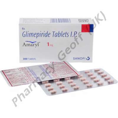Amaryl (Glimepiride) - 1mg (30 Tablets)