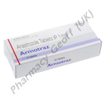 Armotraz (Anastrozole) - 1mg (10 Tablets)