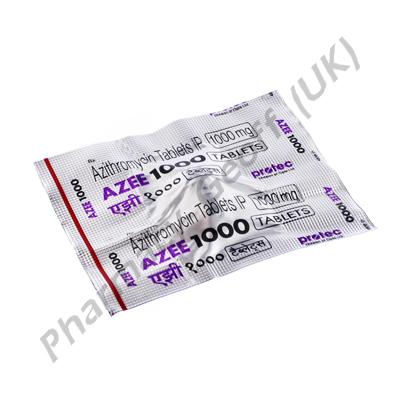 Azee 1000 (Azithromycin) - 1000mg (1 Tablet)