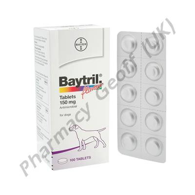Baytril (Enrofloxacin) - 150mg (10 Tablets)