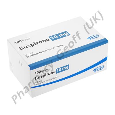 Buspirone (Buspirone Hydrochloride) - 10mg (100 Tablets)